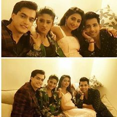 All are just slaying as always Shivin looking dammn cute Kaira ❤