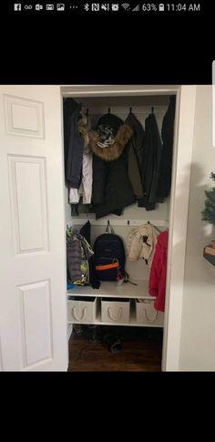 Coats, backpacks etc.