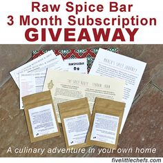Enter the #giveaway today! Ends 4/26/15