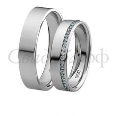 Обручальные кольца 10-150 | 10-151-Ю103 - Компания Юверос