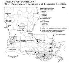 louisiana native american tribes map 129 Best Louisiana Geneography Images In 2020 Louisiana Old louisiana native american tribes map