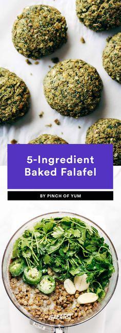 Falafel Recipe: 9 Ways to Make Your Favorite Mediterranean Meal Vegan Keto Recipes, Chickpea Recipes, Lebanese Falafel Recipe, Spicy Cauliflower, Baked Falafel, Wrap Sandwiches, Mediterranean Recipes, Couscous, Dish