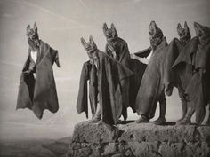 """""""Bat Procession,"""" from Nicholas Kahn and Richard Selesnick's """"Truppe Fledermaus."""""""