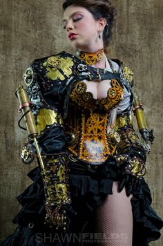 Sarah Hunter Steampunk