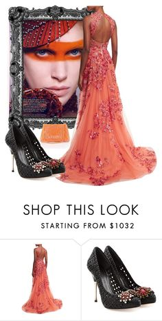 """Until Midnight Gala"" by ester-ludwig ❤ liked on Polyvore featuring Zuhair Murad and Alexander McQueen"