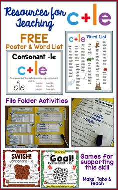 1000 images about consonant le on pinterest syllable treasures reading and worksheets. Black Bedroom Furniture Sets. Home Design Ideas