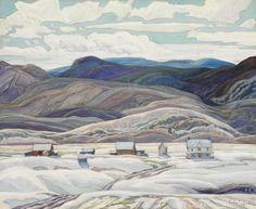 Franklin Carmichael (1890-1945) - Bisset Farm, 1933