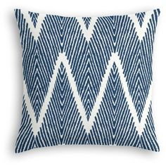 Loom Decor Navy Tribal-inspired Chevron Custom Throw Pillow Blue By ($92) ❤ liked on Polyvore featuring home, home decor, throw pillows, pillows, blue accent pillows, navy blue throw pillows, navy toss pillows, blue toss pillows and tribal throw pillows