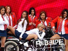 Rebelde (2004) http://en.wikipedia.org/wiki/Rebelde