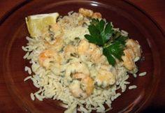 Tejszínes garnélarák | NOSALTY Love Food, Potato Salad, Grains, Food And Drink, Potatoes, Ethnic Recipes, Potato, Seeds, Korn
