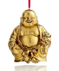 Holiday Lane Buddha Christmas Ornament