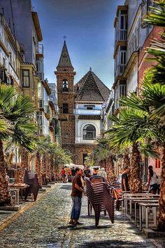 La viña de día (Cádiz, España)