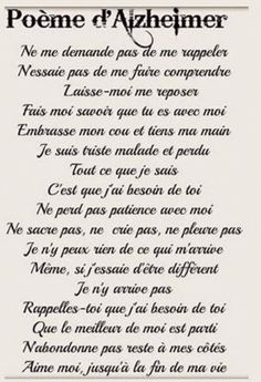 Poème d'Alzheimer Words Quotes, Life Quotes, Sayings, French Language Lessons, Poem A Day, French Quotes, Arabic Words, Learn French, Positive Attitude