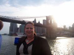 East River beneath the Brooklyn Bridge 2008