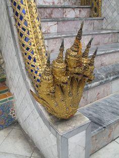 Wat Phra Kaew Naga Temple, Thailand