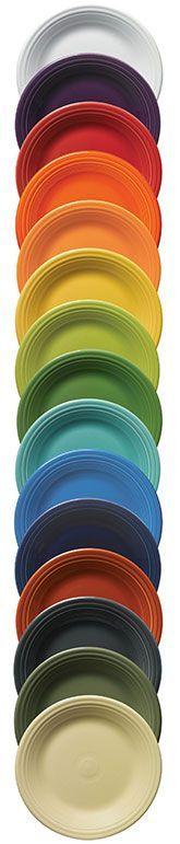 Retired Colors | Fiesta Dinnerware