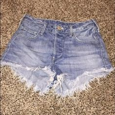 True religion brand jean shorts size 25 Worn only a few times these are beautiful in great condition, compare at 110.00 True Religion Shorts Jean Shorts