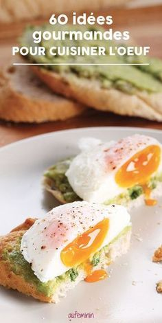 60 tasty dishes to cook eggs well Best Egg Recipes, Healthy Crockpot Recipes, Vegetarian Recipes, Salty Foods, Wie Macht Man, Beef Recipes For Dinner, Snacks Für Party, How To Cook Eggs, Tasty Dishes