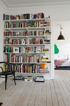 Colorful shelf