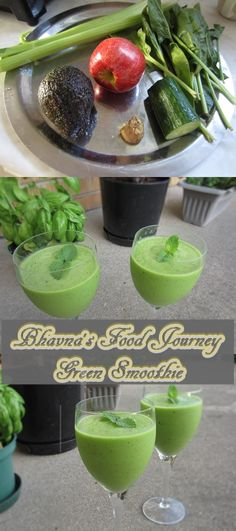 Green Smoothie for flat belly