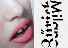 Mini Moodboard: Mind the Gap. gap-toothed girl with typographic poster.