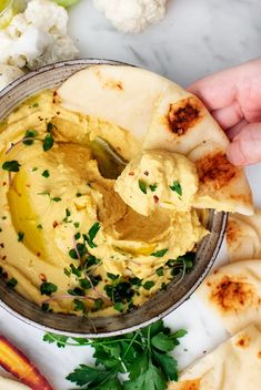 Curried Red Lentil Hummus is the BEST healthy snack! Similar to chickpea hummus but made with red lentils it's tangy creamy nicely spiced and easy to make! Make-ahead friendly. Red Lentil Hummus Recipe, Chickpea Hummus, Red Lentil Soup, Red Lentil Recipes, Lentil Curry, Healthy Afternoon Snacks, Healthy Vegan Snacks, Vegetarian Recipes, Healthy Eating