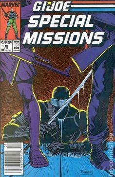 gi joe cover marvel number one | GI Joe Special Missions (1986) comic books