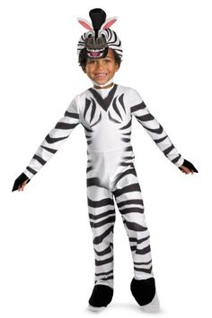 Madagascar 3 Marty The Zebra Classic Costume