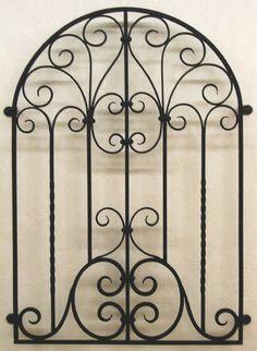 Front Window Design, Window Grill Design, Wrought Iron Trellis, Wrought Iron Doors, Steel Gate Design, Iron Gate Design, Iron Garden Gates, Iron Front Door, Window Bars