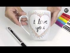 How To Make A Watercolor Mug as seen on Thrifty Thursday with Sarah Mock on Good Day Pa! - YouTube