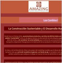 Arq. Paulina Wajngort - AMAZING - La Construcción Sustentable y El Desarrollo Humano