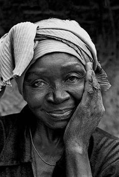 Portrait of an elderly woman taken in Guinea-Bissau by Ernst Schade  #PrettyPeriod
