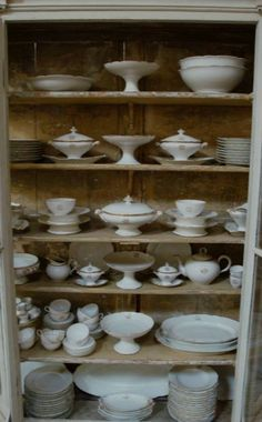 Massive French 19th century Limoges dinner service in Decorative from Appley Hoare