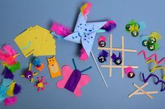 Half term is a great time to get the kids' creative juices flowing, but you don't always want to spend a lot of money on activities to keep them out of trouble. These makes are ideal to keep them entertained for an afternoon, and all of them can be used for play once they're made too!