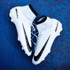 Nike MercurialX Proximo II CR7 Indoor Boot Jr Blue Tint .