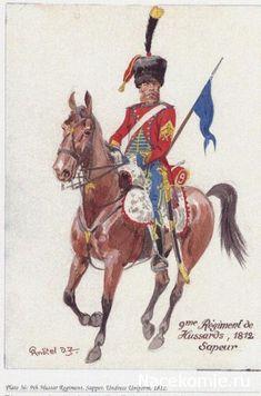 9eme Régiment de Hussards 1812 sapeur