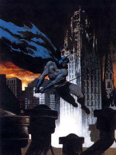 Batman, por Scott Hampton