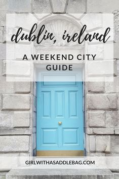 My city guide to Dublin, Ireland, shows you what to do, where to eat and unexpected finds in this vibrant city. Pack your weekend in this pint-sized city with cafes, gardens, incredible food, comedy and great craic.