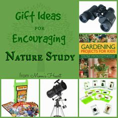 Gift Ideas for Encouraging Nature Study in Kids