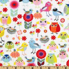 TimelessTreasures Birds Of A Feather - Discount Designer Fabric - Fabric.com