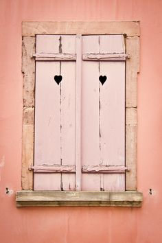 Window With Wooden Shutters by Jacinthe Brault