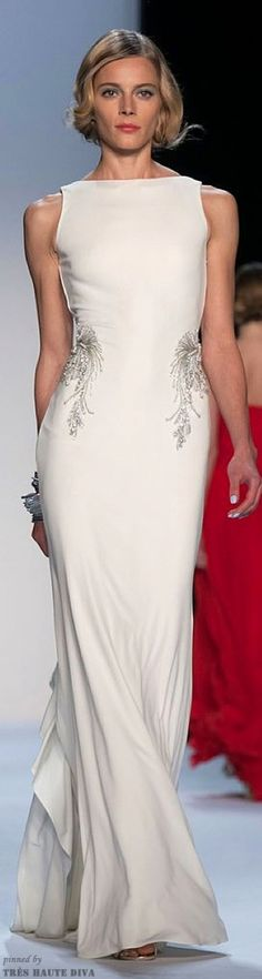 Badgley Mischka, Spring 2014.