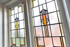 Jaren30woningen.nl | Origineel #glas-in-lood uit de #jaren30