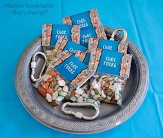 Rock Climbing Birthday Party Ideas | Photo 3 of 12 | Catch My Party More