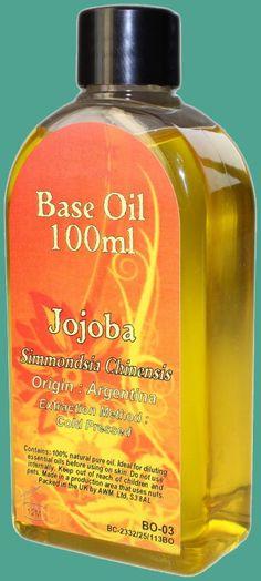Aceite Base Jojoba 100ml Jojoba Simmondsia Chinensis Origen: Argentina Método de extración: Prensado en Frio