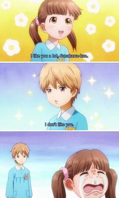 Girls be fast though  O.o  Anime: Ore Monogatari