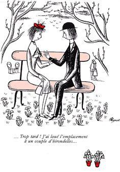 Histoire des Amoureux de Peynet - ARRÊT SUR IMAGE de Ladymiche