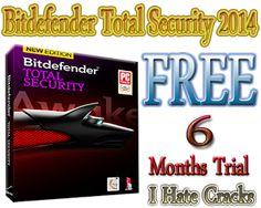 Bitdefender Total Security 2014 Free Download With 180 Days Free Trial - I Hate Cracks | I Hate Cracks
