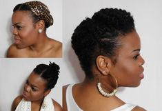 5 Ways To Wear Your Twists:: Protective Hairstyles For Colder Months (Natural Hair) - SimplYounique