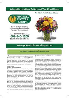 PHOENIX FLOWER SHOPS   #AZSEASONSMAGAZINE